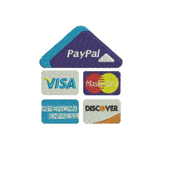 credit card embroidery machine