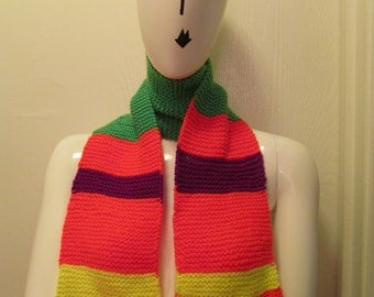 Colorful Neon Scarf