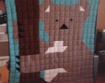 Crochet Koala Bear Afghan