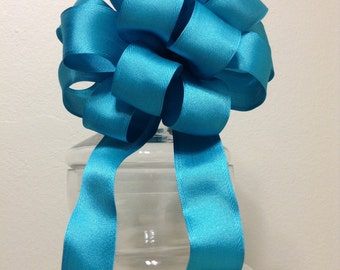 Turquoise Gift Bow - Gift Bows - Gift Topper Bow