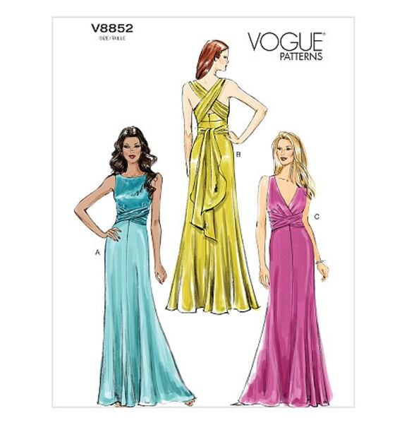 Maxi Dress Patterns Vogue