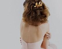 Leaf Comb, Bridal Comb, Rustic Bridal Comb, Bohemian Comb, Grecian Comb, Gold leaf comb, Gold Leaf Headpiece, Rose Gold Comb, Silver Comb