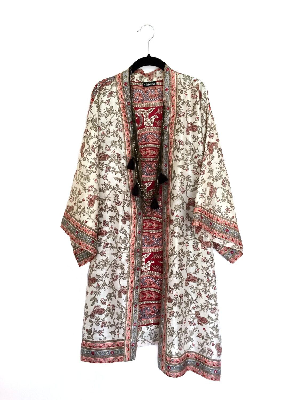 Japanese Silk Kimono Robe