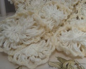 Hand Crochet Christening or Pram Blanket