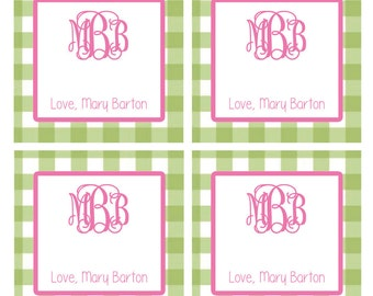 Monogrammed Enclosure Cards