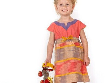 Roller Skate Dress Pattern from Oliver + S, sizes 6M-4 or 5-12