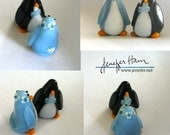 LARGE *FANCY* PENGUIN! Cu...