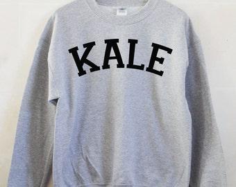 Kale Unisex Sweater Long Sleeve Jumper Vegan Vegetarian