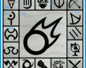 FFXIV Final Fantasy 14 Class/Job Icon Vinyl Decals (Including Heavensward Jobs) featured image
