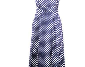 1970 Cotton Maxi Dress. Fifth Ave. Parks Boho Halter Sun Dress. Size Medium