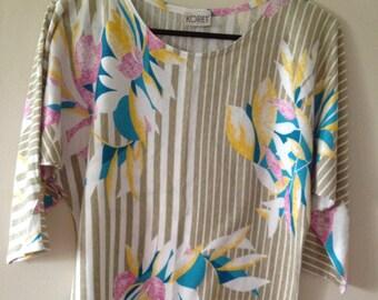 Medium/Large Striped Island Shirt
