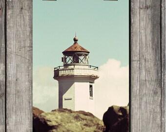 Port Townsend Light House - Nautical, Beach, Scenic, Photography - Port Townsend, WA - Fine Art Print - Canvas Gallery Wrap - Metal Print