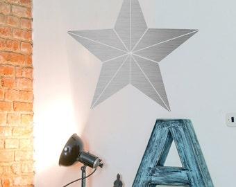 Metal Star Wall Art metal star | etsy