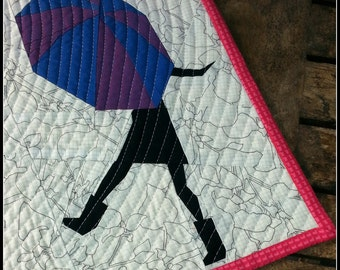 Singing in the Rain- A Paper Pieced Pattern