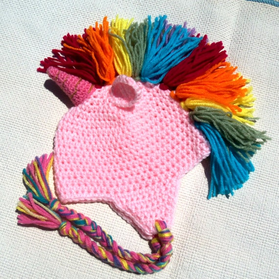 Crochet Unicorn Outfit : crochet baby hat,baby shower gift,crochet unicorn hat,baby gift ideas ...