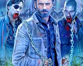 Ricks Chains... The Walking Dead Digital Drawing