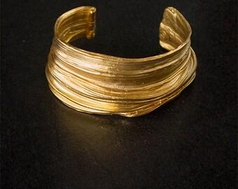 ISITHA Cuff - Art Nouveau Cuff - Ancient Cuff - Antique Cuff