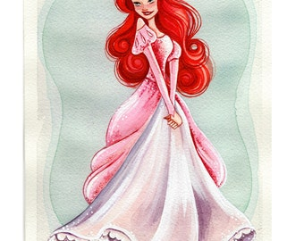 "Princess 5x7"" Fine Art Quality Print."