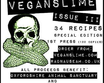 VEGANSLIME ISSUE III (Vegan Zine)