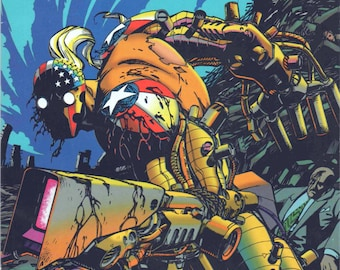 Superpatriot #3, Image Comics,  October 1993, like new