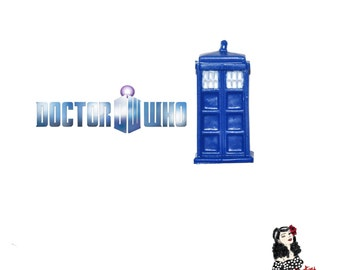 Dr Who TARDIS Brooch - Comic Series