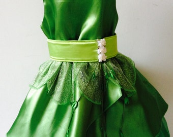 Tinker Bell/Fairy Princess Toddler Dress