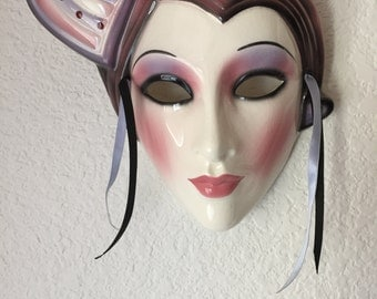 "Isn't She Lovely ... ""Clay Art"" Mask - Vintage"