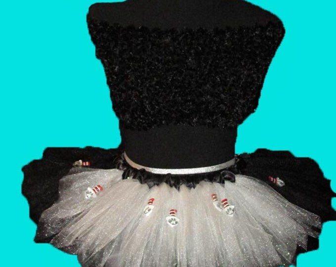 Dr Seuss's Cat in the Hat Themed Tutu Skirt
