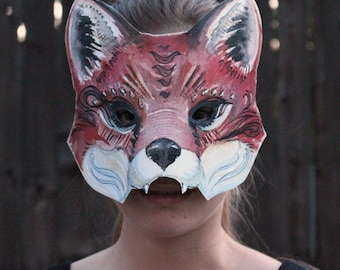 Red fox animal mask