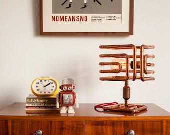 ARBO Copper Table Lamp