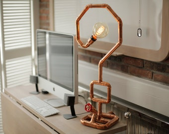 DEMANDO Copper Table Lamp