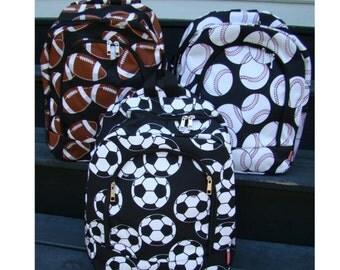 Sport Themed Backpack