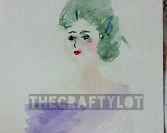 ORIGINAL Watercolor Joker Gender Bend