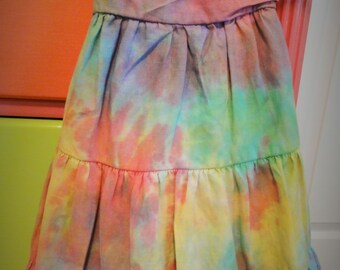 "Baby Be Everything ""Rejuventated!"" Tie-Dye Cotton Eyelet Sundress 18-24 Months!"