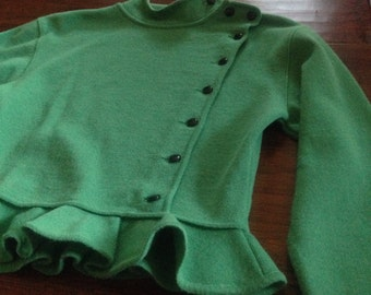 Vintage Ungaro Ter Ruffle Sweater {small}