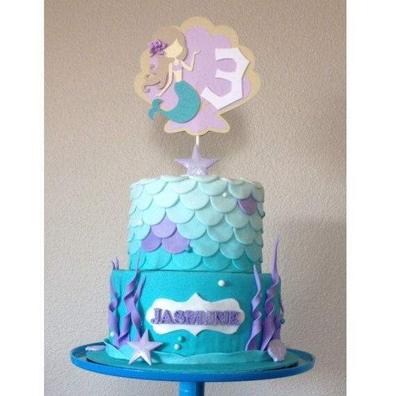 Mako Mermaids Cake Toppers