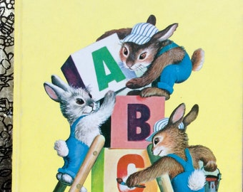 Bunnies ABC Little Golden Book