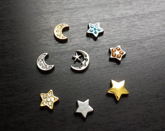Star Floating Charm for Floating Lockets-Gift Idea