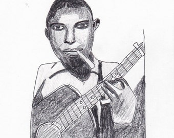 Robert Johnson Digital Print