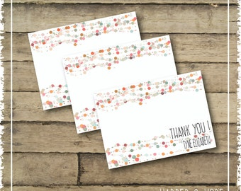Bubbles Thank you Notes