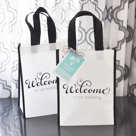 Welcome Wedding Gift Bags: Wedding Welcome Bags