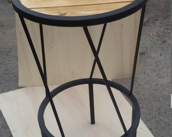 Stool series INdustrial Wood