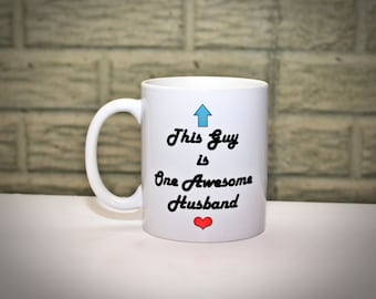 Funny Coffee Mug for Husband - Anniversary Gift for Husband, Dad, Gifts for Men, Gifts for Him, Fathers Day Gift, Gift for Hubby, Husband