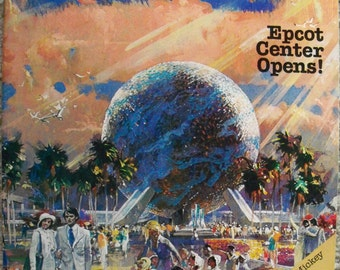 Vintage Disney News Magazine – Fall 1982  - EPCOT CENTER OPENS! Volume 17, No. 4