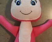 1 (one) Lily Doll - Inspired by a Popular Kids TV Show - Made to Order - All Stitched/No Glue