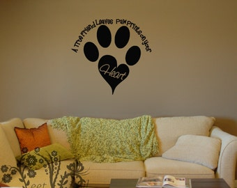 Dogs Wall Decal Etsy - Custom vinyl wall decals dogs