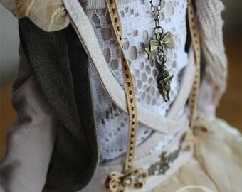 BJD Clothes - Mori Dress ( for MSD bjd doll, Little Gem)