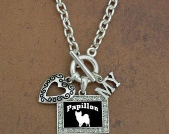 Heart My Papillon Necklace