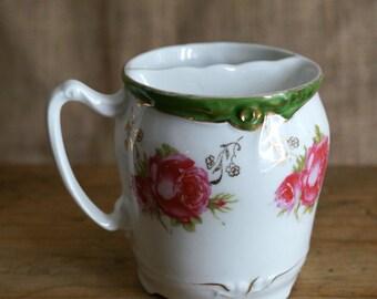 Vintage Shaving Mug - Mustache Mug - Vintage Coffee Mug - Mustache Guard Mug - Mustache Guard Cup - Gentleman's Teacup