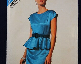 Sewing Pattern Butterick 6389 for a Woman's Dress in Sizes 6-14